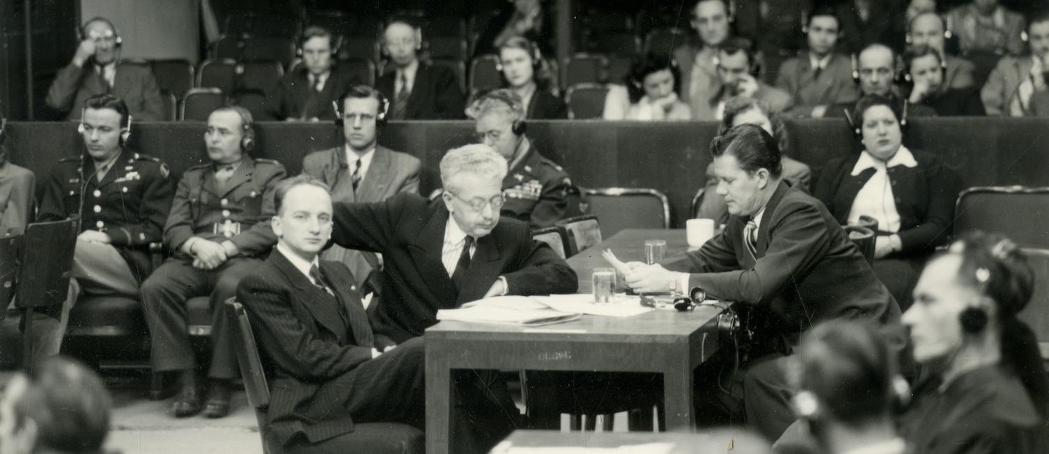 Einsatzgruppen Trial, Nuremberg, 1947