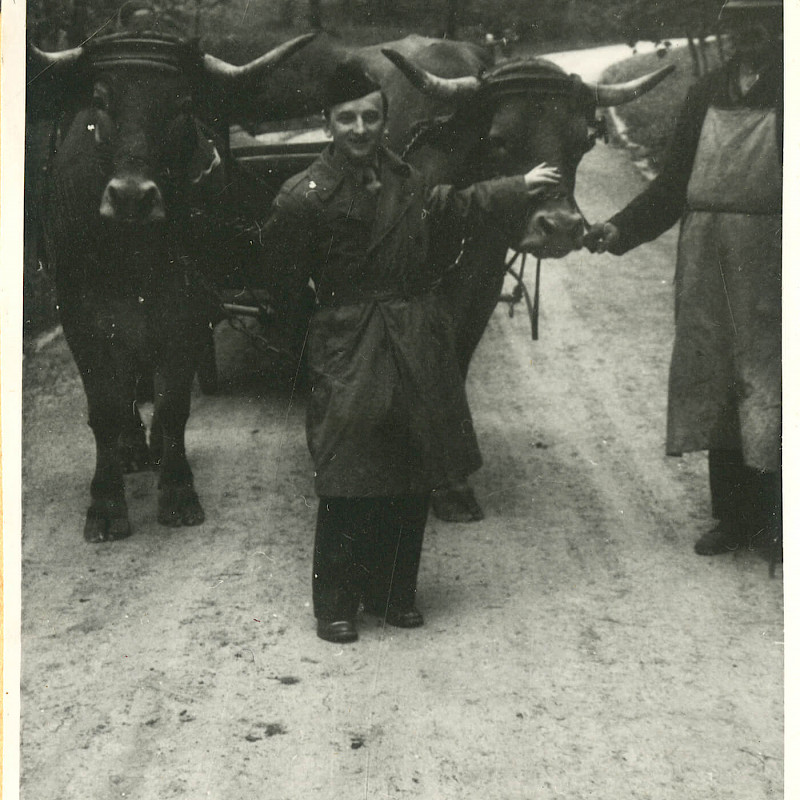 Ben in a rural area of Bavaria, 1946