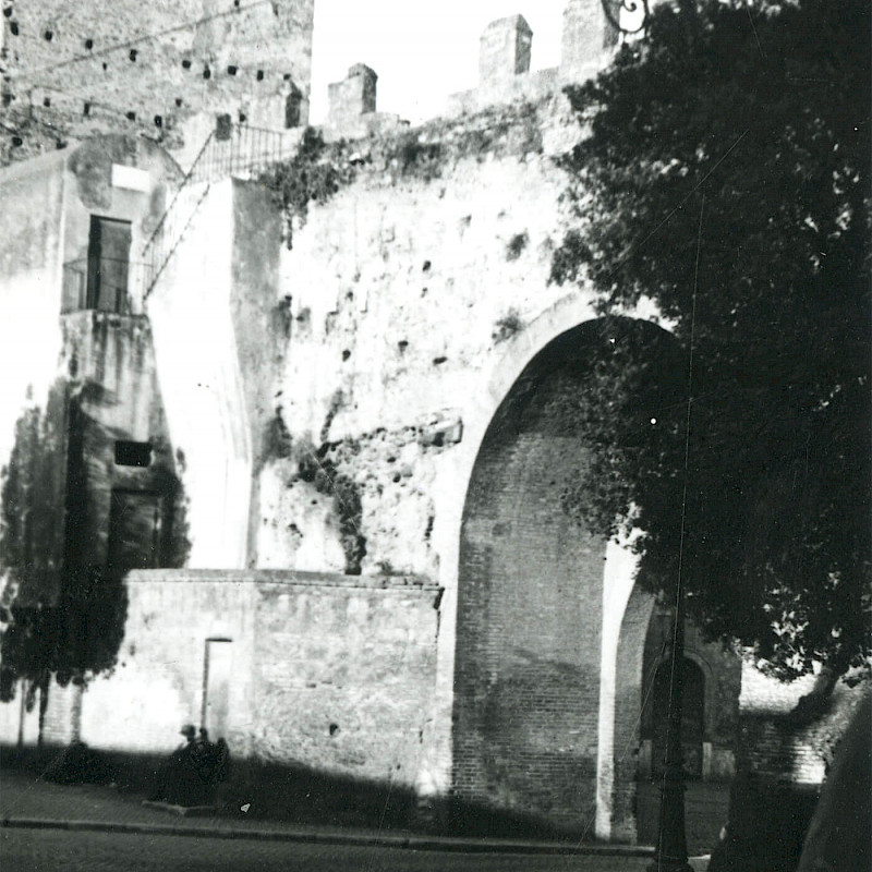 The Appian Way in Rome, December 1946